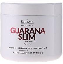Kup Antycellulitowy peeling cukrowy do ciała - Farmona Professional Guarana Slim Owocowy raj