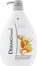 Kup PRZECENA! Kremowe mydło w płynie Masło karite i migdały - DermoMed Karite And Almond Cream Soap*