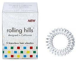 Kup Gumki do włosów, przezroczyste, 5 szt. - Rolling Hills 5 Traceless Hair Rings Transparent