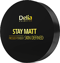 Kup Kompaktowy puder matujący - Delia Stay Matt Skin Defined Pressed Powder