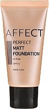 Kup Matujący podkład do twarzy - Affect Cosmetics Perfect Matt Foundation SPF 15