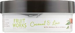 Masło do ciała Kokos i limonka - Grace Cole Fruit Works Body Butter Coconut & Lime — фото N3