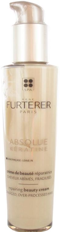 Regenerujący krem keratynowy do włosów - Rene Furterer Absolue Keratine Repairing Beauty Cream — фото N1