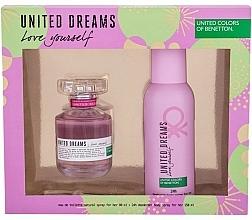 Kup Benetton United Dreams Love Yourself - Zestaw (edt 80 ml + deo 150 ml)