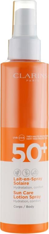 Przeciwsłoneczny balsam w sprayu do ciała SPF 50+ - Clarins Sun Care Lotion Spray — фото N2