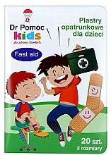 Kup Plastry opatrunkowe dla dzieci - Dr Pomoc Kids Fast Aid Patch