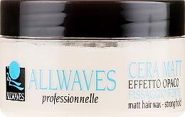 Kup Mocny wosk do włosów z efektem matującym - Allwaves Matt Hair Wax Strong Hold