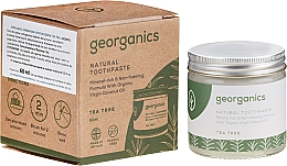 Kup Naturalna pasta do zębów - Georganics Tea Tree Natural Toothpaste
