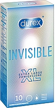 Kup Prezerwatywy XL 10 szt. - Durex Invisible Extra Large