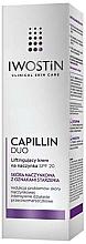 Liftingujący krem na naczynka SPF 20 do skóry naczynkowej z oznakami starzenia - Iwostin Capillin Duo Day Lifting Cream Spf20  — фото N2