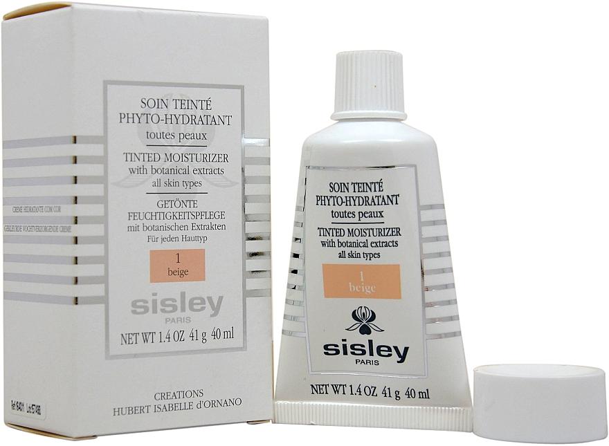 Nawilżający krem koloryzujący - Sisley Soin Teinté Phyto-Hydratant — фото N3