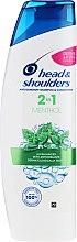 Kup Przeciwłupieżowy szampon i odżywka do włosów 2 w 1 - Head & Shoulders 2in1 Menthol Anti-Dandruff Shampoo + Conditioner