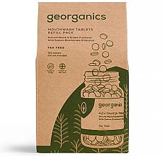 Kup PRZECENA! Naturalne tabletki do płukania jamy ustnej Drzewo herbaciane - Georganics Mouthwash Tablets Tea Tree (uzupełnienie) *