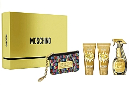 Kup Moschino Gold Fresh Couture - Zestaw (edp 100 ml + b/lot 100 ml + s/gel 100 ml + bag)