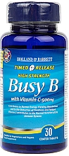 Kup Witamina B-complex z witaminą C w tabletkach - Holland & Barrett Timed Release Busy B Complex With Vitamin C 500mg
