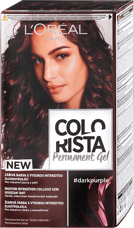 Trwała żelowa farba do włosów - L'Oreal Paris Colorista Permanent Gel