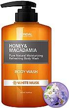 Kup Odświeżająco-nawilżający żel pod prysznic Białe piżmo - Kundal Honey & Macadamia Body Wash White Musk