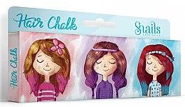 Kup Zmywalne kolorowe kredy do włosów dla dzieci - Snails Hair Chalk