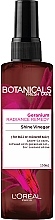Kup Nabłyszczający octowy spray do włosów - L'Oreal Paris Botanicals Fresh Care Radiance Remedy Geranium Shine Vinegar