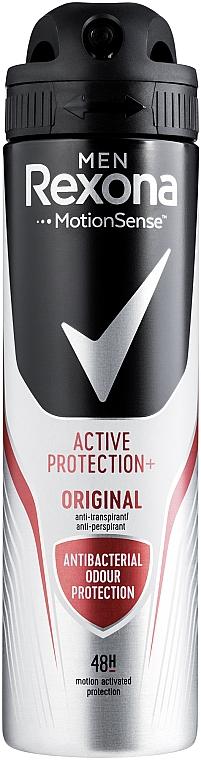Antyperspirant w sprayu dla mężczyzn - Rexona Men MotionSense Active Shield Anti-Perspirant