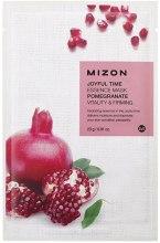 Kup Rewitalizująca maska ujędrniająca na tkaninie z granatem - Mizon Joyful Time Essence Mask Pomegranate
