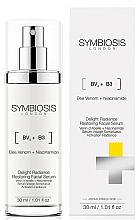 Kup Rozświetlające serum do twarzy Jad pszczeli i niacynamid - Symbiosis London Delight Radiance Restoring Facial Serum