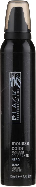 Pianka koloryzująca do włosów - Black Professional Line Protective Colouring Mousse — фото N1