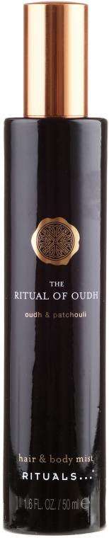 Mgiełka do włosów i ciała Oud i paczula - Rituals The Ritual of Oudh Hair & Body Mist Oudh & Patchouli — фото N1