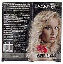 Kup PRZECENA! Proszek do rozjaśniania włosów, niebieski (saszetka) - Black Professional Line Bleaching Powder Blue *