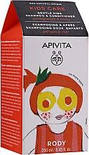Kup Szampon i odżywka do włosów dla dzieci Miód i granat - Apivita Babies & Kids Natural Baby Kids Shampoo & Conditioner With Honey & Pomegranate