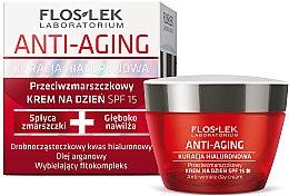 Kup Krem na dzień do twarzy Kuracja Hialuronowa - Floslek Anti-Aging Anti-Wrinkle Day Cream SPF15