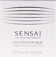 Kup Lekki balsam korygujący kontur oka - Kanebo Sensai Cellular Performance Eye Contour Balm