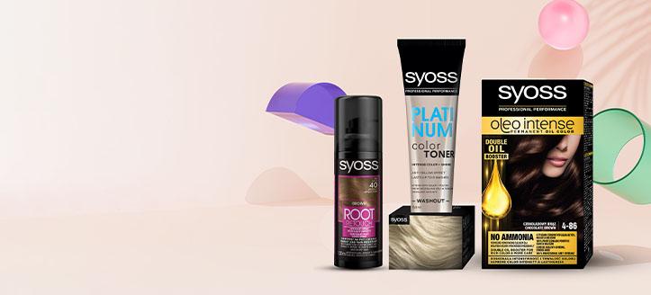 Zniżka 25% na promocyjne produkty do pielęgnacji włosów Syoss. Сeny uwzględniają zniżkę