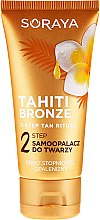 Samoopalacz do twarzy, szyi i dekoltu Efekt stopniowej opalenizny, krok 2 - Soraya Tahiti Bronze — фото N1