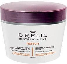 Kup Rekonstruująca maska do włosów zmęczonych - Brelil Bio Treatment Repair Restructuring Mask For Treated Hair