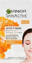 Kup Odżywcza maseczka z miodem i ceramidami do skóry suchej i bardzo suchej - Garnier SkinActive Honey Mask