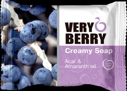 Kup Kremowe mydło w kostce Jagody acai i olej amarantusowy - Very Berry Acai & Amaranth Oil Creamy Soap