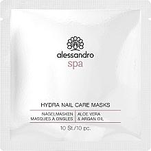 Kup Maska do rąk i paznokci Aloes i olej arganowy - Alessandro International Spa Hydra Nail Care Mask