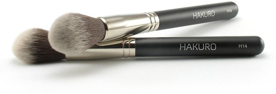 Pędzel do konturowania twarzy H14 - Hakuro