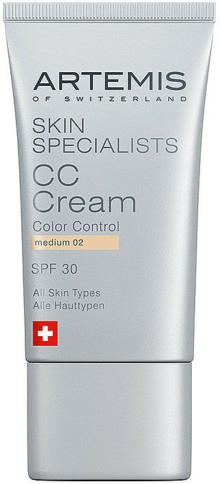 Artemis of Switzerland Skin Specialists CC Cream - Krem CC — фото N1