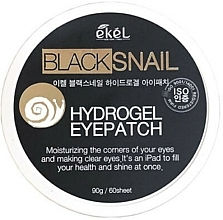 Kup Hydrożelowe płatki pod oczy z mucyną ślimaka czarnego - Ekel Ample Hydrogel Eyepatch