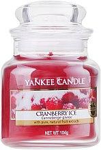 Kup Świeca zapachowa w słoiku - Yankee Candle Cranberry Ice