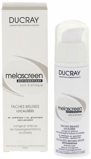 Intensywny preparat przeciw pigmentacji skóry - Ducray Melascreen Depigmenting Intense Care — фото N1