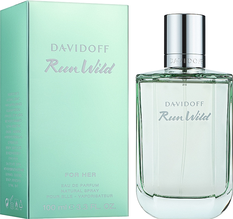 Davidoff Run Wild For Her - Woda perfumowana — фото N2