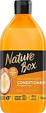 Kup Odżywka do włosów z olejkiem arganowym - Nature Box Nourishment Vegan Conditioner With Cold Pressed Argan Oil