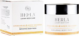 Kup Naprawcza maska do ciała - Herla Luxury Body Care Gingko Biloba & White Mulberry Repairing Body Mask