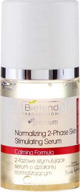 Dwufazowe stymulujące serum o działaniu normalizującym - Bielenda Professional Individual Beauty Therapy — фото N2
