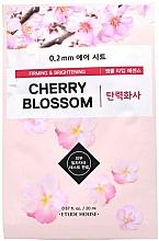 Kup Ujędrniająca maseczka rozjaśniająca w płachcie do twarzy - Etude House Therapy Air Mask Cherry Blossom
