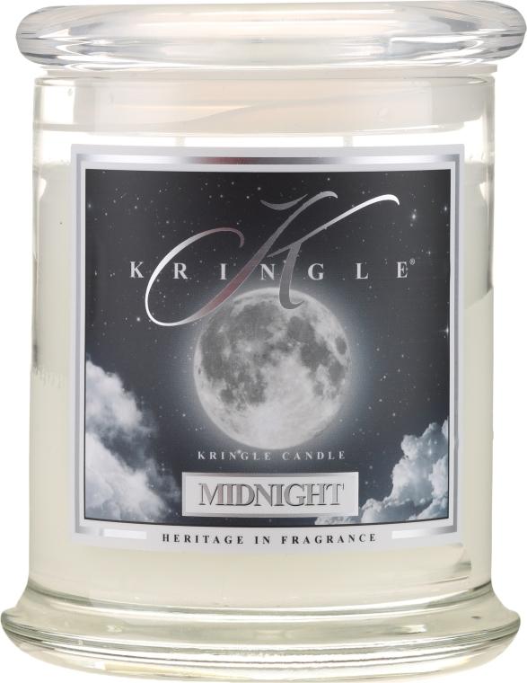 Świeca zapachowa w słoiku - Kringle Candle Midnight — фото N1