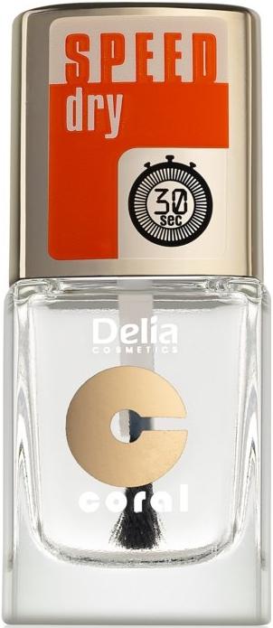 Utrwalacz lakieru przyspieszający jego wysychanie - Delia Speed Dry Top Coat
